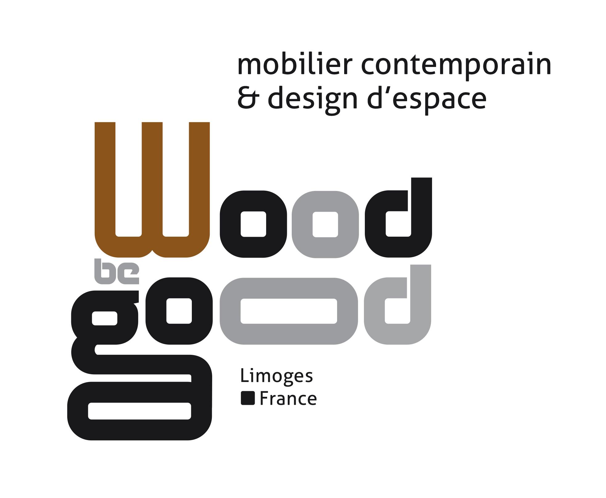 wood-be-good-logo, création de mobilier contemporain