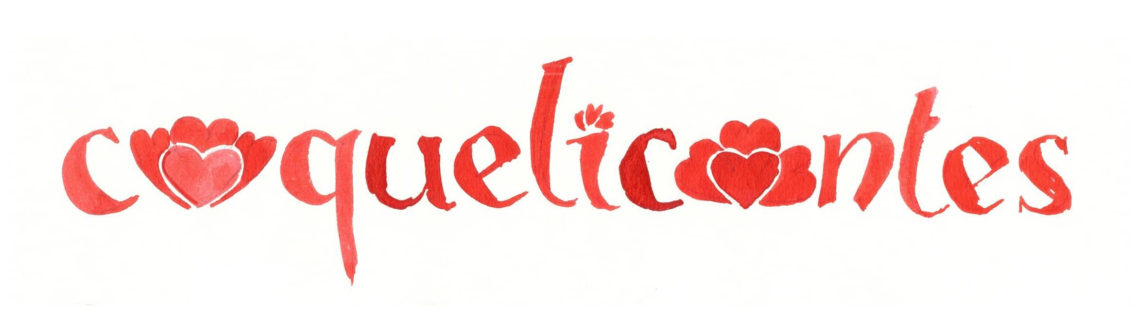 Conception du logo Coquelicontes