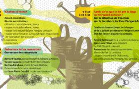 Communication éco-responsable : rencontres de l'occitan en périgord-limousin, pages d'intérieur